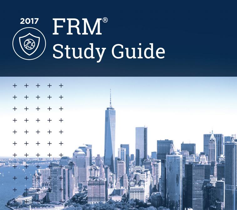 2017年FRM最新考纲及考纲变化